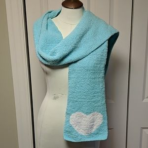 Aeropostale mint green fleece scarf